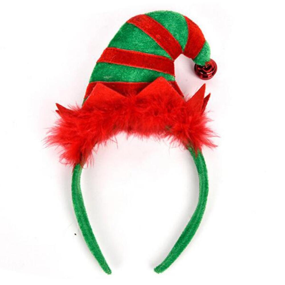 2019 2018 Christmas Hairband Creative New Santa Claus Hat Hair Band Hoop Hair  Accessories For Girl Kids Headband Children Gift Tiara From Imixlot 65f8fd4666d