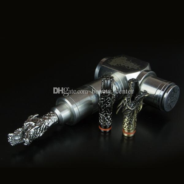 Zarif Metal Ejderha Şekli Damla İpuçları Ağızlıklar için e sigara CE4 CE5 MT3 cam Atomizer Protank mods eGo Atomizer