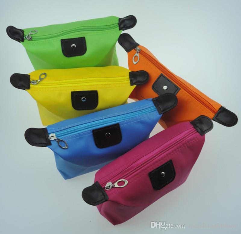 2017 Fashion Alta Qualità Lady MakeUp Pouch Cosmetici Make Up Bag Uomini Frizione Hanging Articoli da toeletta Kit da viaggio Gioielli Organizzatore Borsa Casual