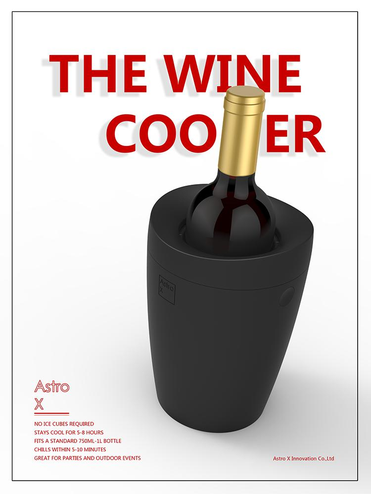 Original Astro X 5 Minutes Fast Wine Cooler Red Wine Ice Bucket Plastic  Cooler Iced Beer Car Refrigerator by Alibear Wine Cooler Red Wine Ice  Bucket Car ...