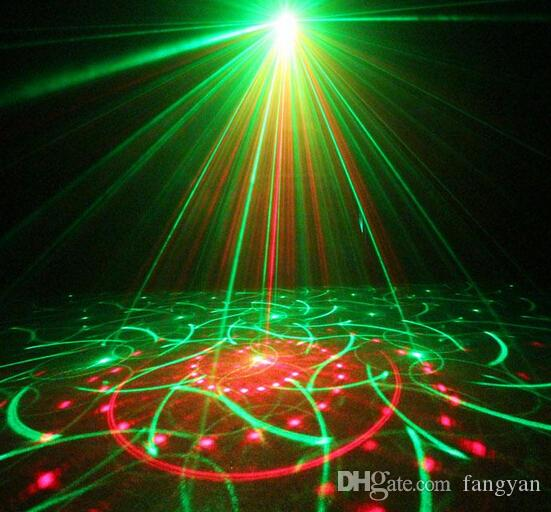 Z80RGR New Remote 5 lenses 80 Patterns RGRB 4 Laser & BLUE LED Mix Effects Stage Lighting DJ Bars Home Party Show Lights Xmas AC110V-220V