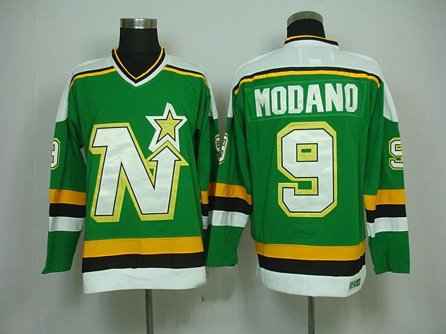 ... 2017 Cheap MenS Dallas Stars Minnesota North Star Nhl Jerseys 9 Mike  Modano Vintage Throwback Stitched ... 1d3f9bfa6