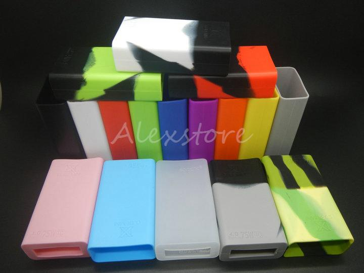 30шт силиконовый чехол силиконовый чехол резиновый рукав защитный чехол кожи для Smoktech х куб 75 Вт Smok Xcube мини 75Watt TC Vape Box Mod