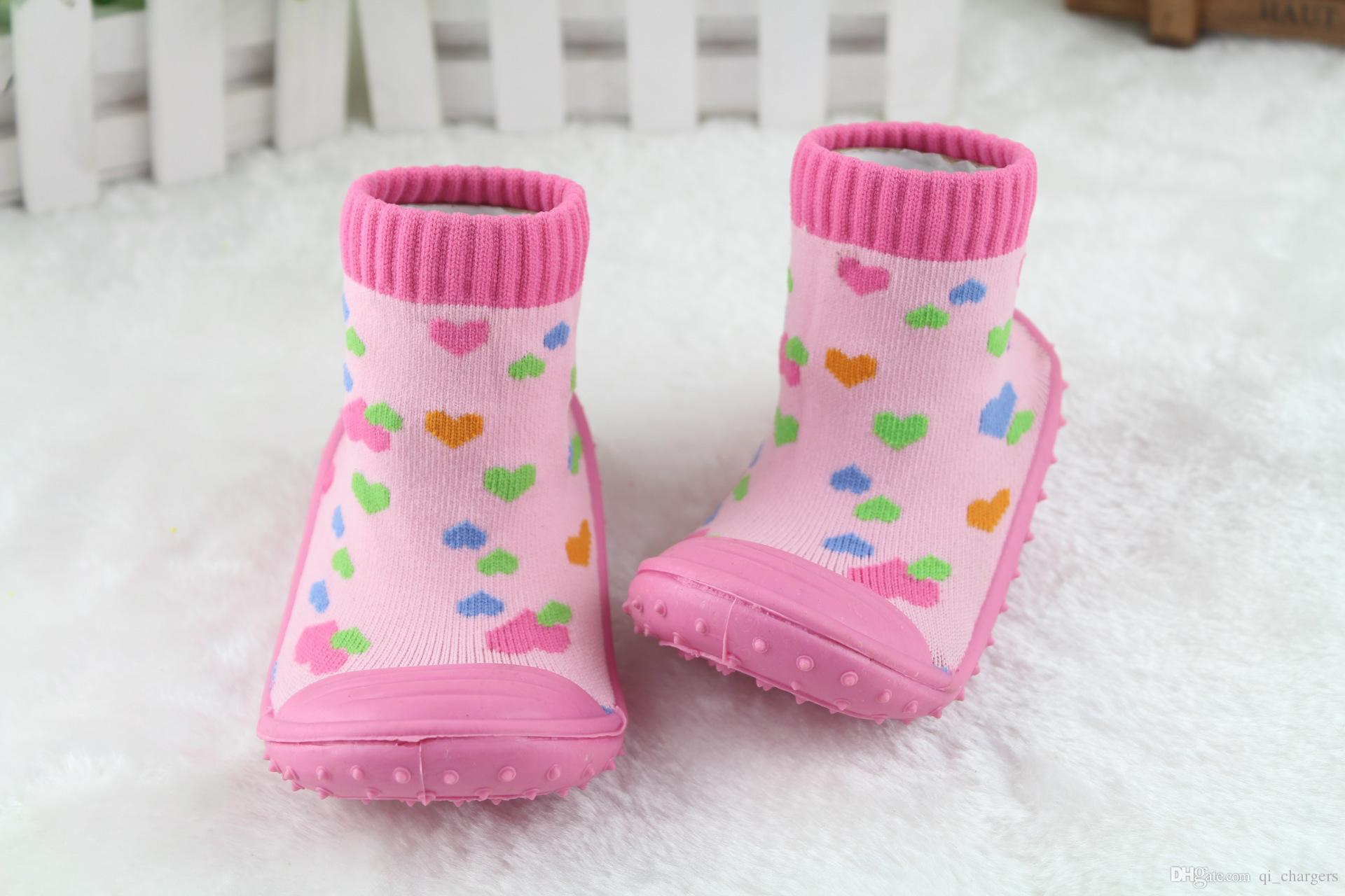 Best Spring Autumn Baby Socks Rubber Soles Child Floor Socks Kids