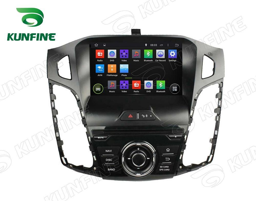 Quad Core 1024*600 HD Screen Android 5.1 Car DVD GPS Navigation Player Car Stereo for Ford Focus 2012 Radio 3G wifi