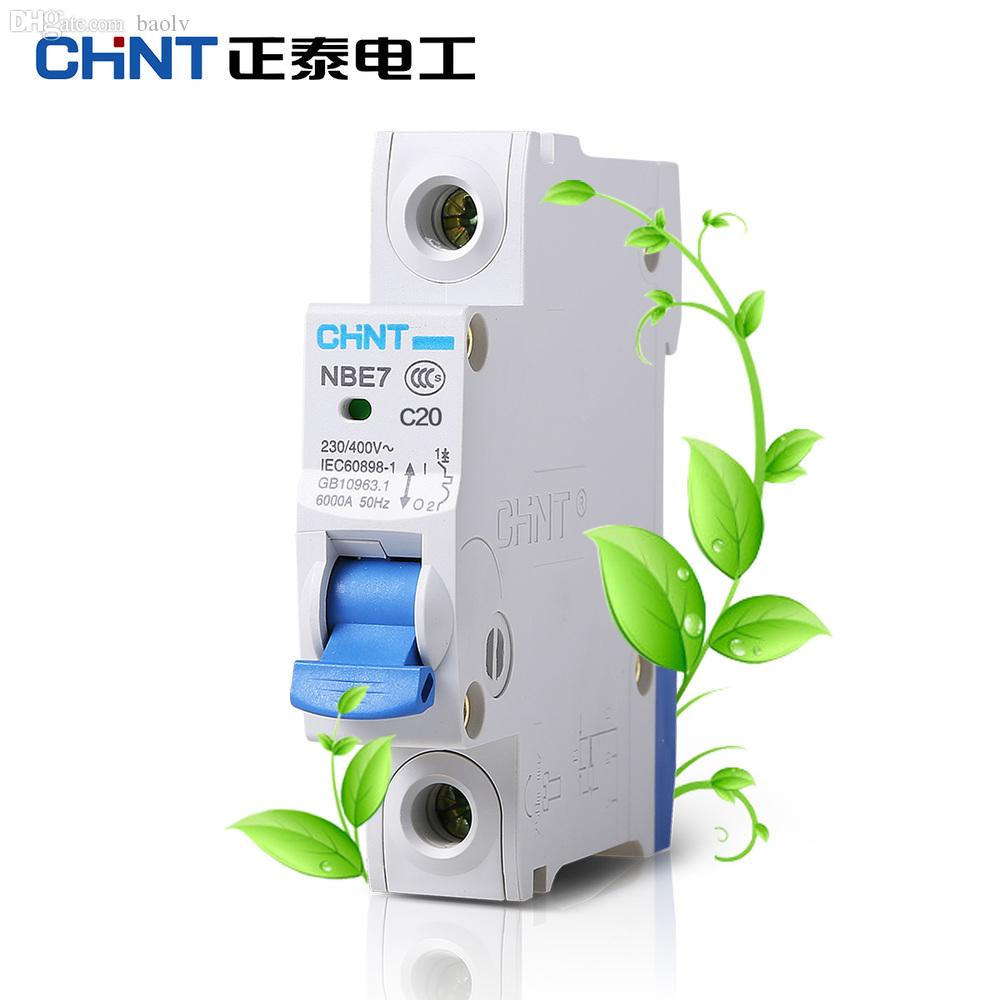 2018 Wholesale Chint Electric Household Type C Mini Miniature ...
