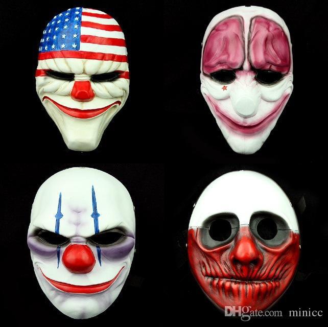 Korku Cadılar Bayramı Maskesi Testere Maskesi Kukla Masquerade Maskesi Chainsaw Katliamı Korkunç Cosplay Halloween Partisi Kostüm ücretsiz Kargo
