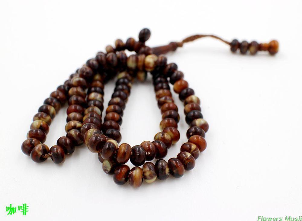 Wholesale 99 Muslim Prayer Beads Hand String Islam Muslim Worship ...