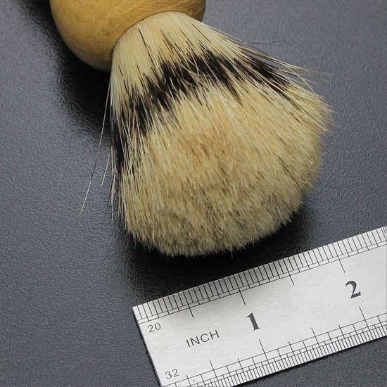 Лучший Барсук волос помазок для бритья парикмахерская инструмент лучшие мужчины подарок деревянной ручкой