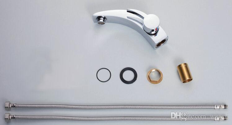 Proclinate ванной раковина смеситель для раковины кран хромированная полированная латунь спрей кран 3050