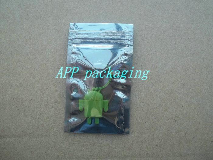 6 * 9cm Anti Static Shielding Sacs ESD Anti-Statique Pack Sac Étanche Zipper Serrure Auto Joint Antistatique Paquet Sac