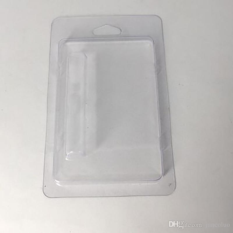 Новые 0.5 мл ясно моллюск оболочки блистерная упаковка для всех видов 0.5 мл 510 нить толстые картриджи с маслом