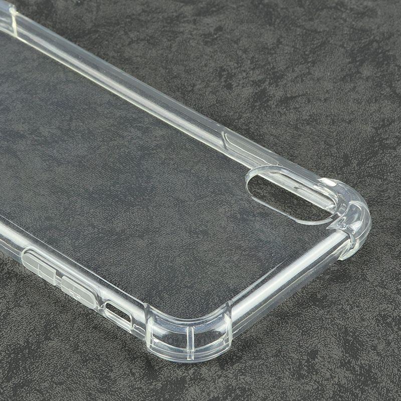 سعر المصنع المضادة للخبط لينة tpu شفاف واضح حماية الغلاف صدمات حالة آيفون 6 ثانية 6 7 8 زائد x سامسونج s8 s8 زائد note8