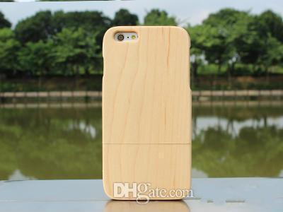 Bamboo Wood Hard Case Cover Skin for Cell Phone Apple iphone 6 iphone6 i6 Plus 4.7 / 5.5 inch Hotselling New Super Quality i6 Wooden Case