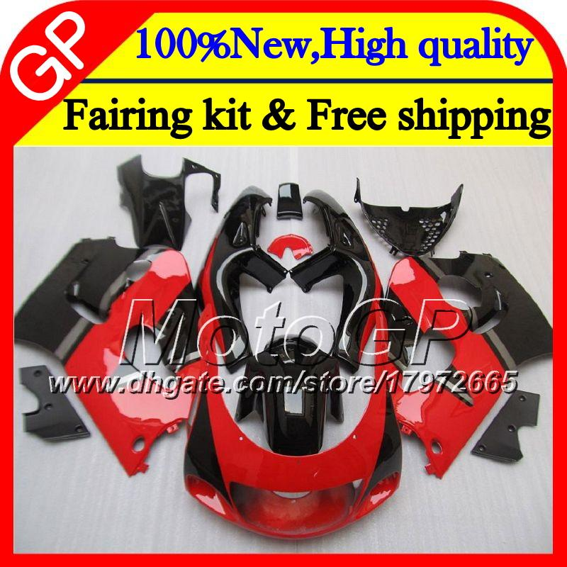 Body For SUZUKI SRAD GSXR 600 750 96 00 GSXR750 96 97 98 99 00 20GP9 Red black GSX-R600 GSXR600 1996 1997 1998 1999 2000 Motorcycle Fairing