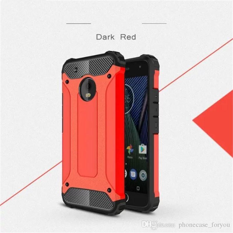 purchase cheap 9bd14 31195 100pcs/lot Heavy Hybrid Cases Dual Layer Defender Back Cover For Motorola  Moto G G2 G3 G4 G4 Plus G4 Play