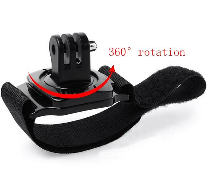 Accessories kit for Go pro Hero 5 4 3+2 Chest Belt Head Mount Strap for xiaomi yi action camera 12D