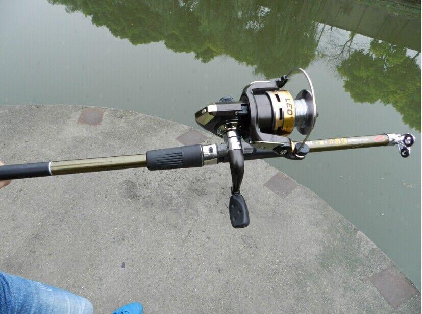 Новые прядильные удочки углерода телескопические удочки рыболовные снасти качества рыболовные средства 2.1M-3,6M FR901-E