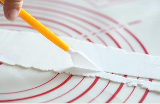 Strumento di torta di Bakeware che intaglia coltello Coltello che decora Torta di fondente che decora Fiore che modella Craft Artiglio Sugarcraft Strumento Cutter