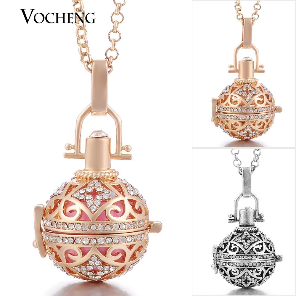 Vocheng ball harmony pendant jewelry maternity necklace copper metal vocheng ball harmony pendant jewelry maternity necklace copper metal angel ball chain necklaces with stainless steel chain va 092 harmony ball necklace aloadofball Images