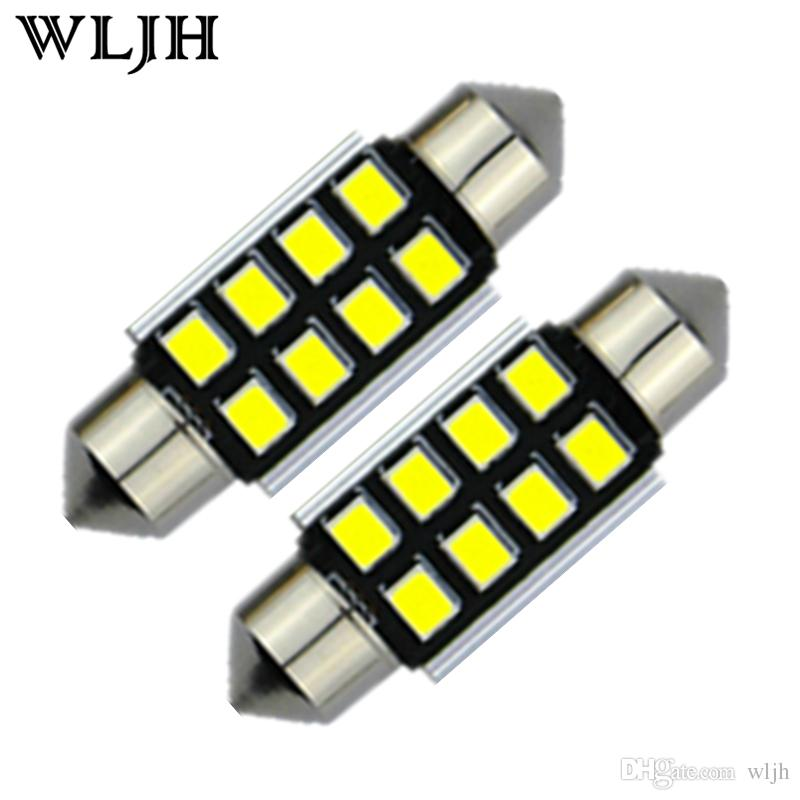 WLJH Canbus 2835 SMD LED Interior Light Dome C5W Festoon Interior Bulb  Globe 31mm 36mm 39mm 41mm Led Lamp Light 12V Car Led Lamp Car Led Lamps  From Wljh, ...