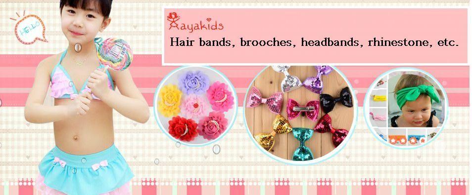 baby flower headbands new high-quality Leopard Print Chiffon Lace worn rose baby hairband birthday headband cheer bows