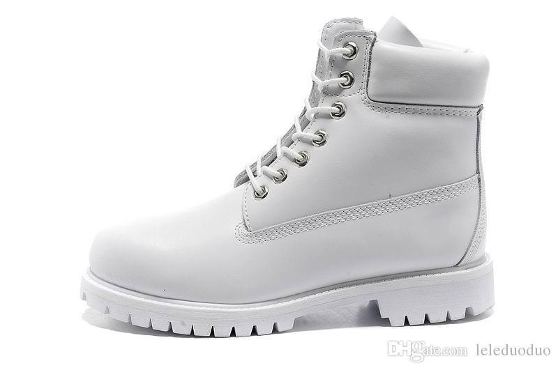Toptan-Kış Beyaz Kar Botları Marka Erkek Kadın Hakiki Deri Su Geçirmez Açık Çizmeler İnek Deri Yürüyüş Ayakkabıları Eğlence Ayak Bileği Çizmeler ücretsiz