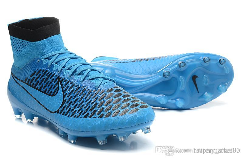 0ef98ac90f610c 2019 Nike Soccer Shoes Soft Spike Men Best Soccer Boots Nike Magista Obra  FG Turquoise BI Black Wolf Grey Athletic Outdoor Shoes Shop Running From ...