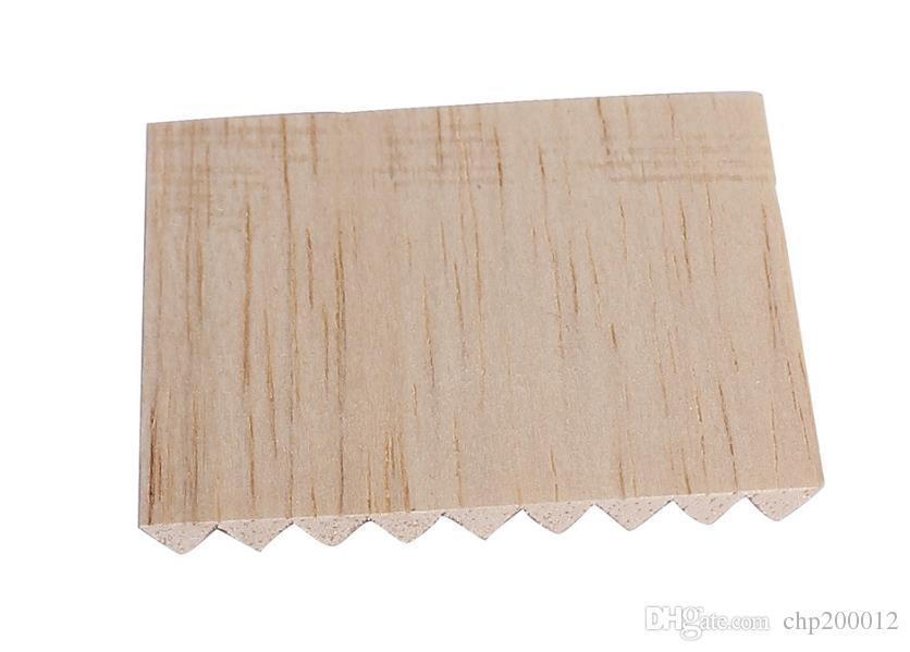 Canalización de la boca del canal de la boca de tubo de los 6MM 20 Filtración inofensiva natural eficiente de la base de madera de madera del filtro del palillo