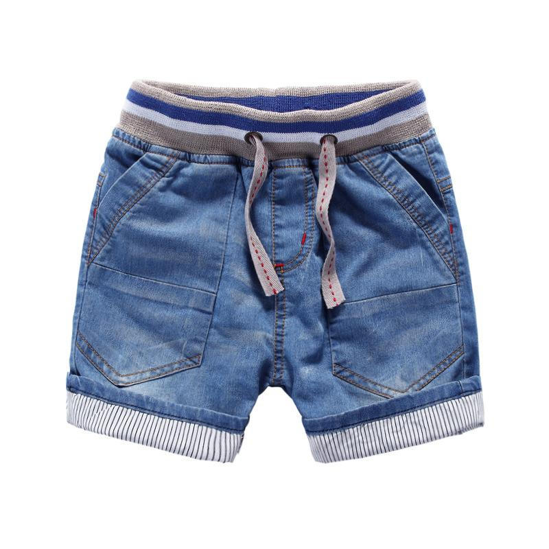 2016 Summer Childrens Kids Jeans Shorts Boys Denim Short Pants ...