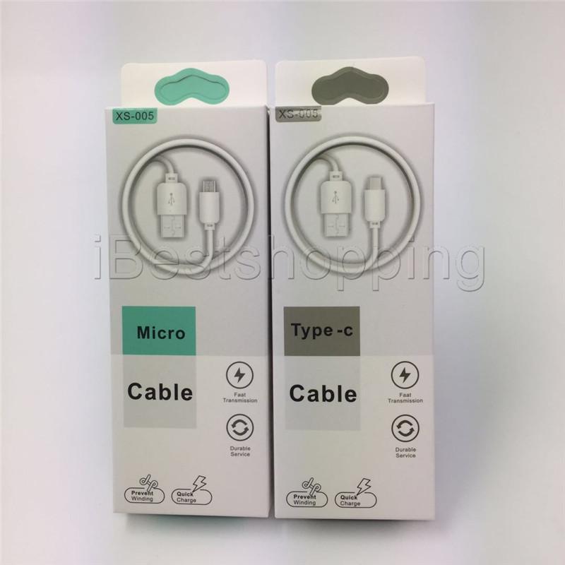 Micro-USB-Schnellladegerät für Android-Telefonkabel Typ C-Ladegerät Datenkabel mit Kleinpaket