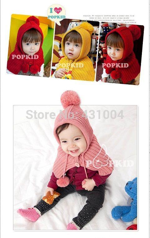 Wholesale Children Hoodies Baby Girls Shawls Cap Set Fashion Baby