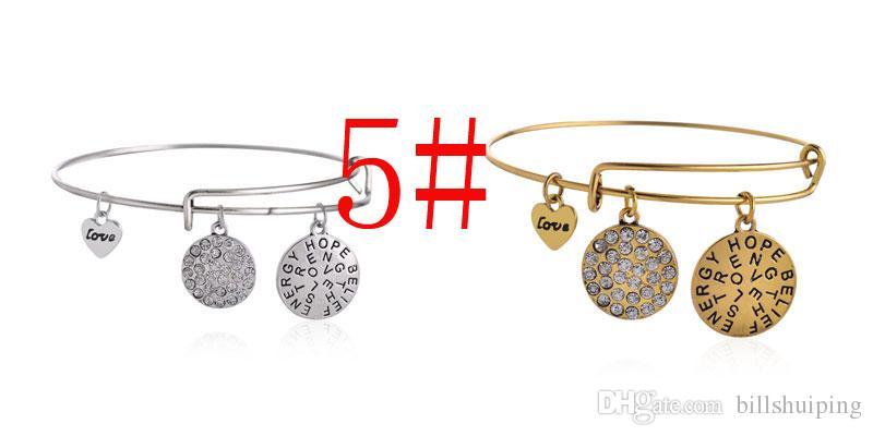 Смешанные стили новая мода браслет Кристалл сплава Бесконечности мотаться три ретро шаблон DIY браслеты браслеты ювелирные изделия