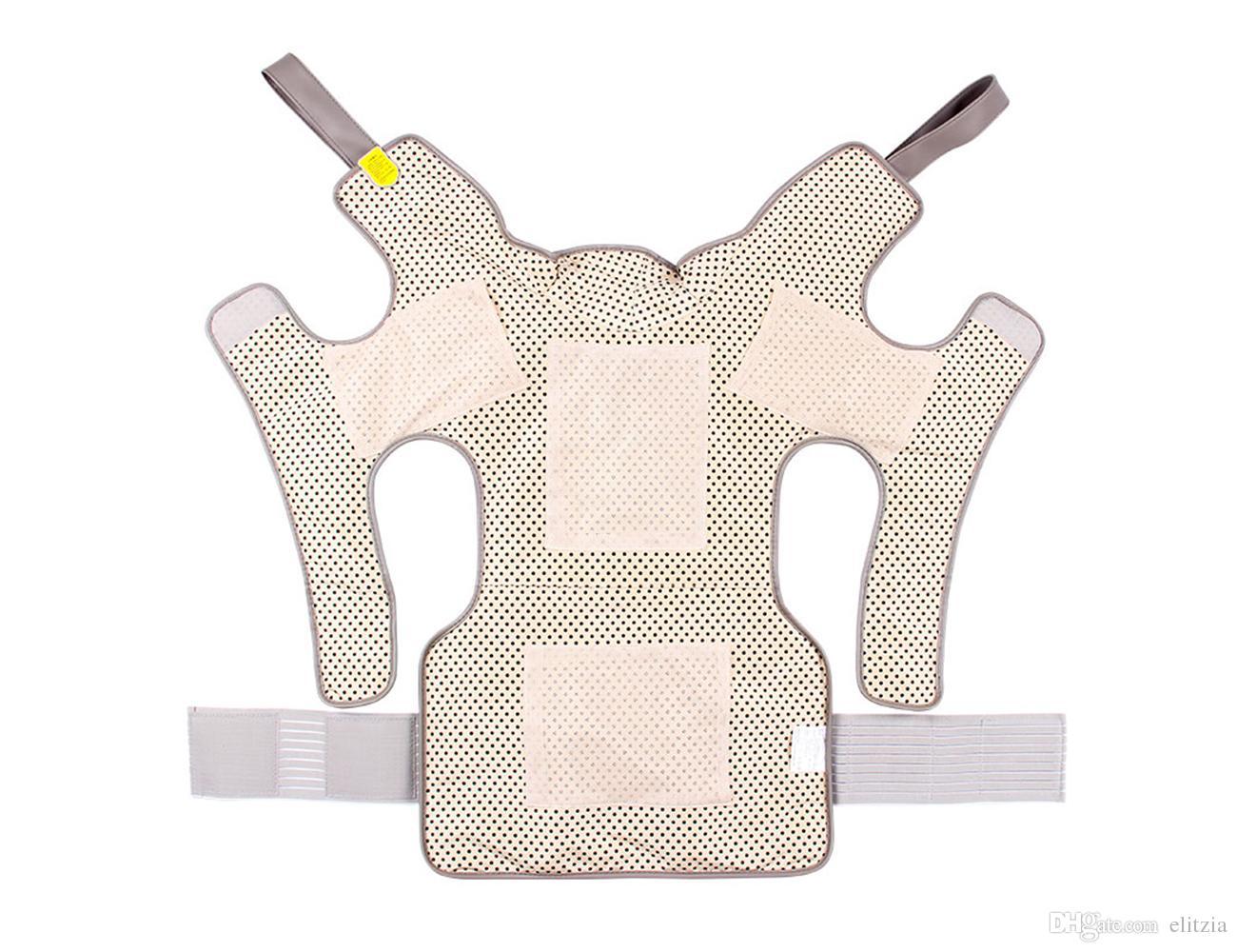 Health Care Massager Vibrator Multifunctional Far Infrared Heating Neck Shoulder Waist And Back Care Massager Elitzia ETHYE102
