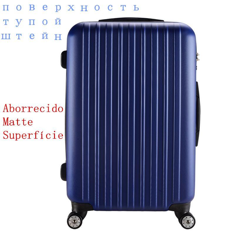 2015 Matte Style Rolling Luggage Hard Shell Wheeled Garment ...
