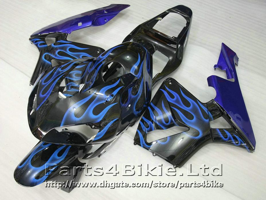 NEW Blue flame bodykit style for Honda CBR600RR 2003 2006 fairings CBR 600 RR CBR 600RR 03 04 fairing kit LNIC