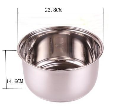 5L acciaio inox secchi barili di birra di ghiaccio di ghiaccio da dessert strumenti di cottura pan tortiera battito uovo vassoio 0.5KG   pezzo