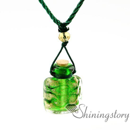 aromaterapia joyas aromas aceite esencial difusor difusor de aceite joyería vintage botella de perfume collar difusores perfume vial neckl