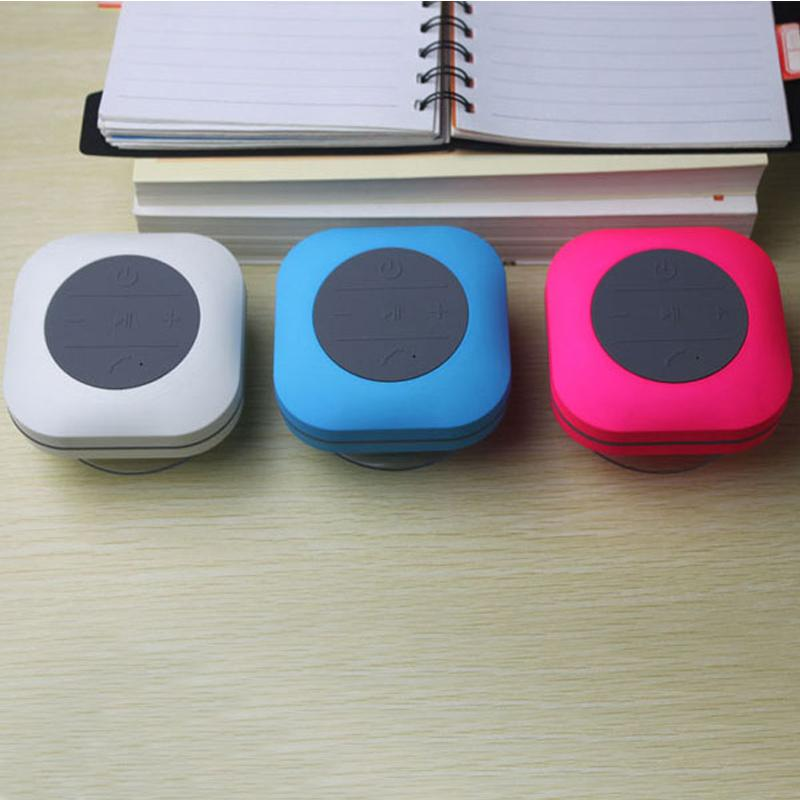 New Style CBP Speakers Bluetooth Button Control Mini Portable Wireless Sucker Speaker For iPad Tablet PC Mobile Phone DHL Free MIS118