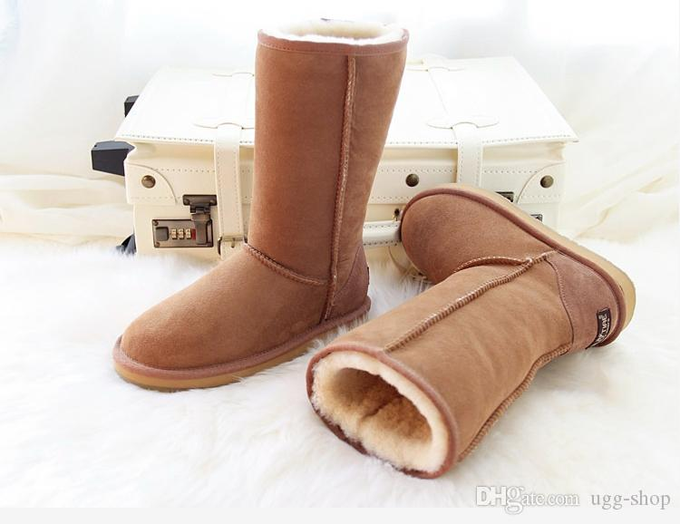 4a0219b4b1a 2018 High Quality Snow boots WGG Womens Classic tall Boots Womens Winter  boots leather boot US SIZE 5-13