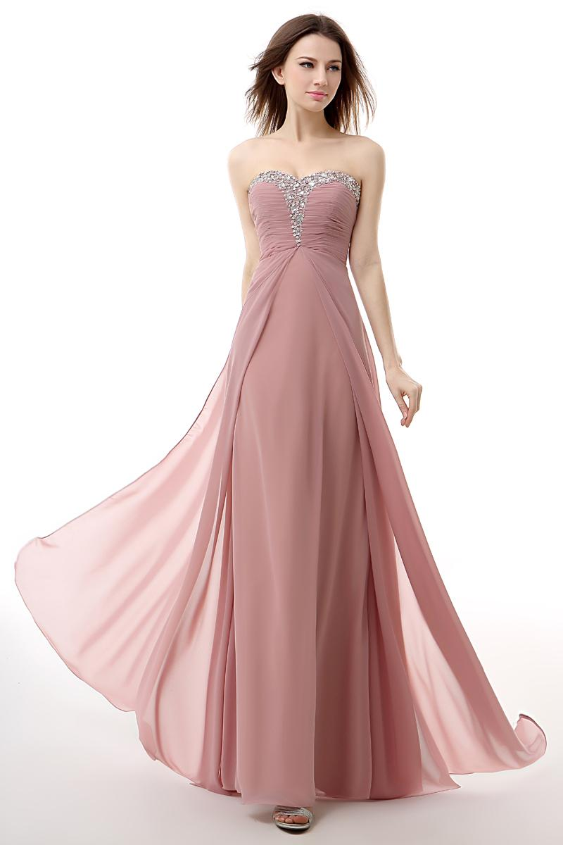 Compre Real Photo Pale Pink Sweetheart Vestidos De Baile Piso ...