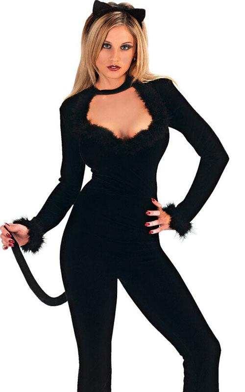 see larger image - Cat Outfit For Halloween