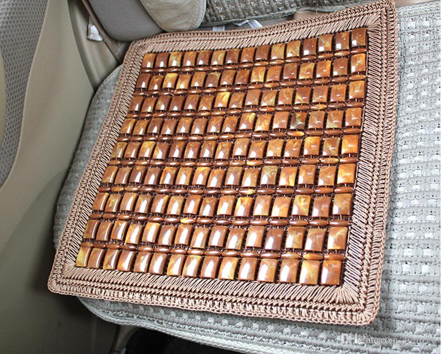Monolithic Brown Lace Cushion Summer Car Upholstery Four Hand-Woven Seat Cushion 64-2B 1955 Ecological Log Refreshment