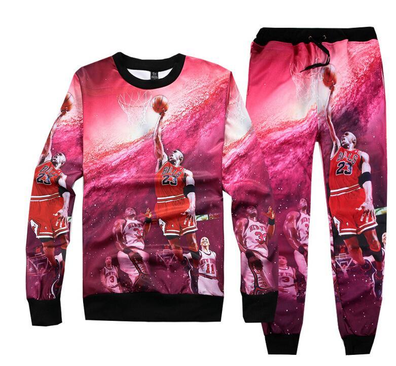 Sıcak Yeni emoji baskı kadınlar / erkekler / erkek hoodies + joggers pantolon eşofman eşofman karikatür emojis sportwear kış kıyafet