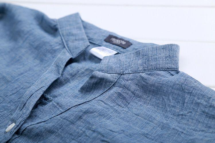 Blouses For Women New Elegant Cotton Linen Lady Clothing Fashion Slim Woman Temperament Pure Color Hot Causal Shirt Women Tops Blouses