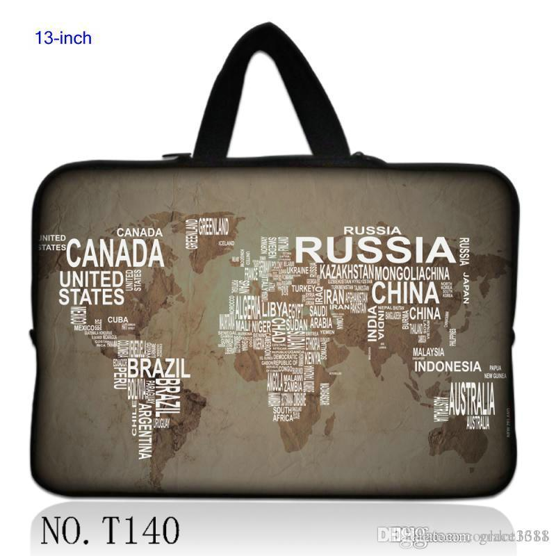 Online cheap world map for 133 apple macbook pro air laptop online cheap world map for 133 apple macbook pro air laptop notebook sleeve bag case pouch 13 inch by cooldot1688 dhgate gumiabroncs Images