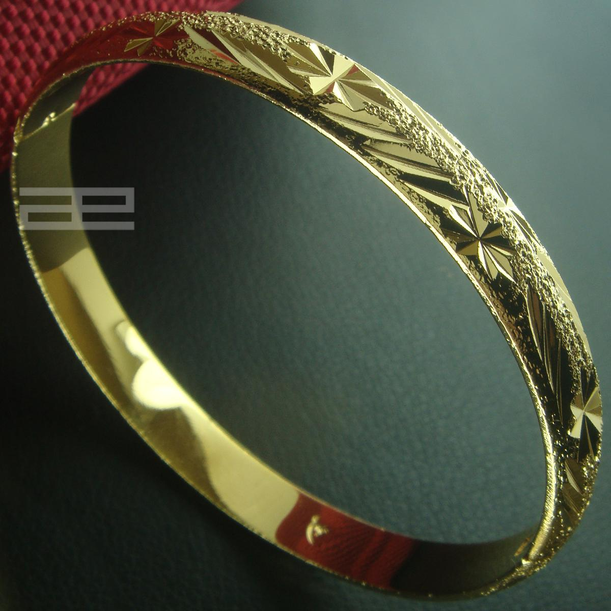 ea15c2744 18K Yellow Gold Filled 60mm Dia Girls & Ladies Can Open Bracelet Bangle G85  Bangle Online with $9.59/Piece on Xiaoxiaostore's Store | DHgate.com