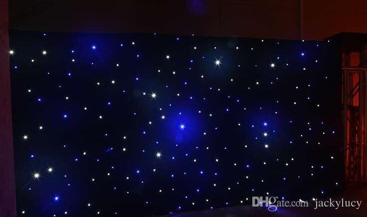 20 Square Meters Fantasy Star Blue White Color Led Curtain