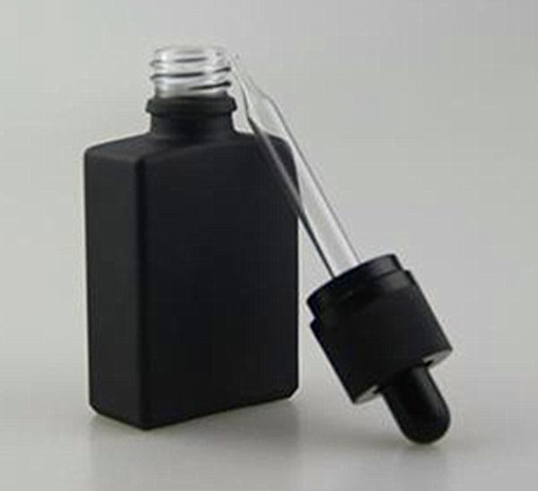 30 мл e жидкое стекло капельницы бутылка плоский квадрат e сок бутылка прямоугольник эфирное масло с чистым стеклом капельницы для электронной сигареты