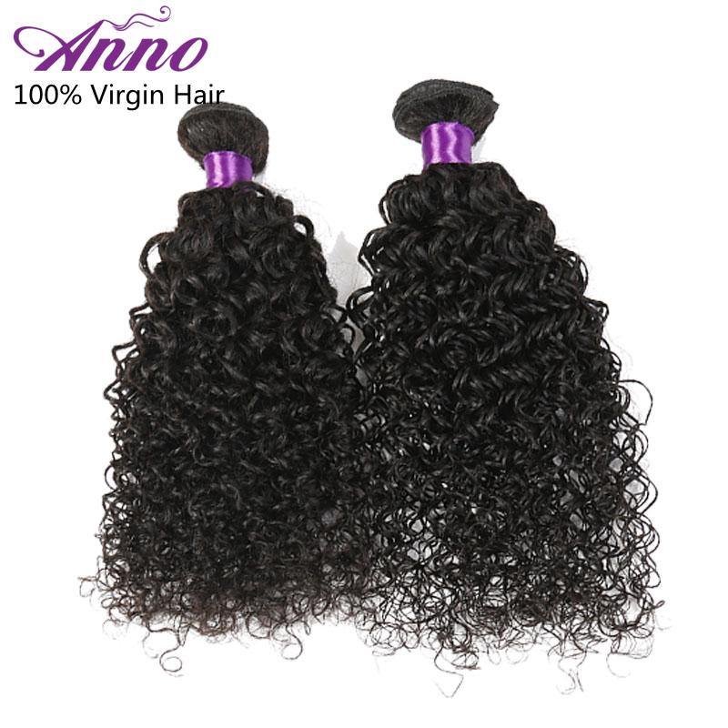 Anno Hair Products Mongolian Kinky Curly Hair 3 Bundles Afro Kinky